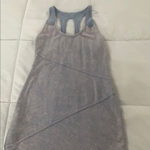 Free People Stretchy Denim Colored Dress